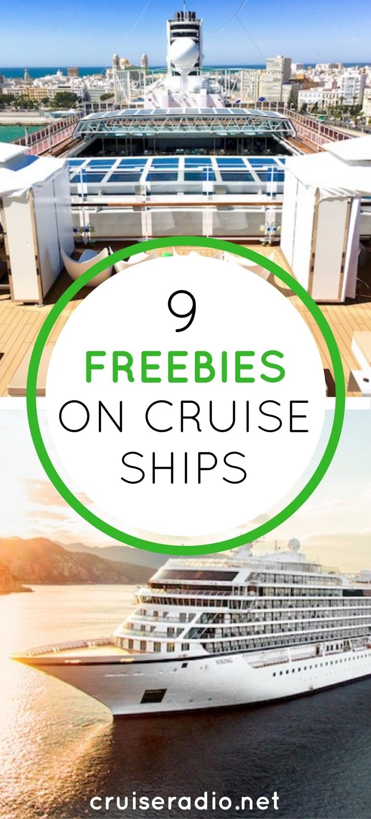 Subscribe to Cruise Radio News by Email It's no doubt in this economy we are pinching pennies now more than ever… yes, even on vacation. A common misconception when you take a cruise is that everything costs extra money. Wrong! Here area few ways to get free stuff on cruise ships. Chec…