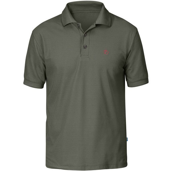 Fjallraven Men's Crowley Pique Polo Shirt - Size XXXL (€73) ❤ liked on Polyvore featuring men's fashion, men's clothing, men's shirts, men's polos, no color, mens long sleeve shirts, mens short sleeve polo shirts, mens polo shirts, mens short sleeve shirts and mens long sleeve polo shirts