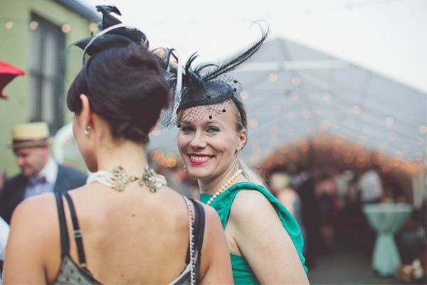 This 1920s Wedding In A Brooklyn Speakeasy Is So Awesome #refinery29