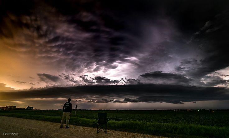 UFO Cloud East of Winnipeg