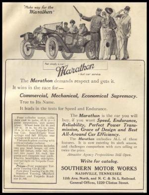 History of the Marathon Motor Works