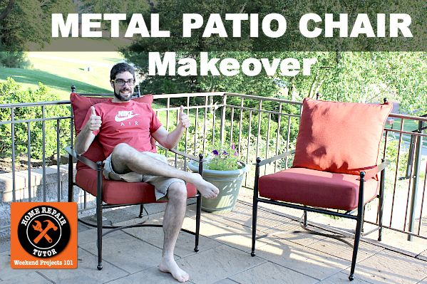 Metal Patio Chair Makeover
