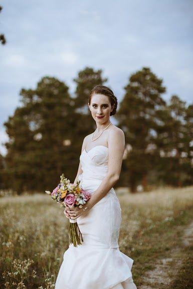 Real Colorado Wedding Monique Lhuillier Anna Be Denver