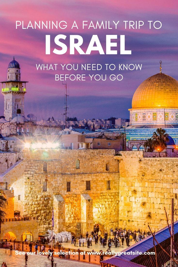 israel travel tips for families | trekaroo blog | pinterest | travel