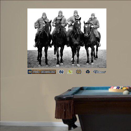 Notre Dame Fighting Irish Notre Dame   Four Horsemen Mural Fatheads Part 86