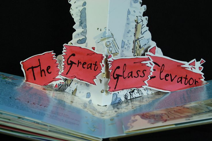 Quentin Blake charlie and the chocolate factory pop up book