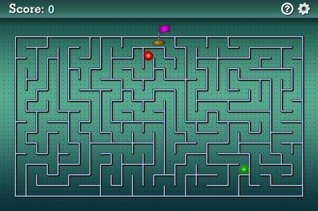 Brain Games  ›  Logic Games Maze Race Game