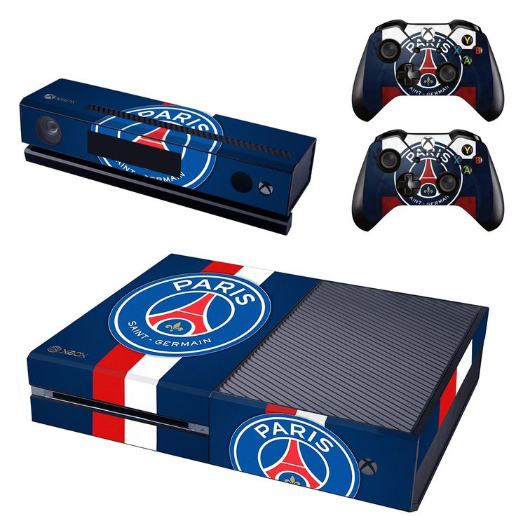 Paris Saint-Germain FC xbox one skin for console and controllers