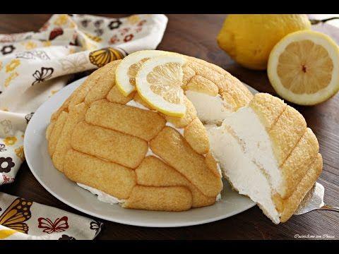 Zuccotto di pavesini al limone
