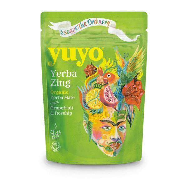 Un Yerba maté blend exotique et punchy, parfaite boisson du quotidien grâce à son goût fruité et sa dose d'anti-oxydants Ingrédients : Yerba Maté, zestes de cit