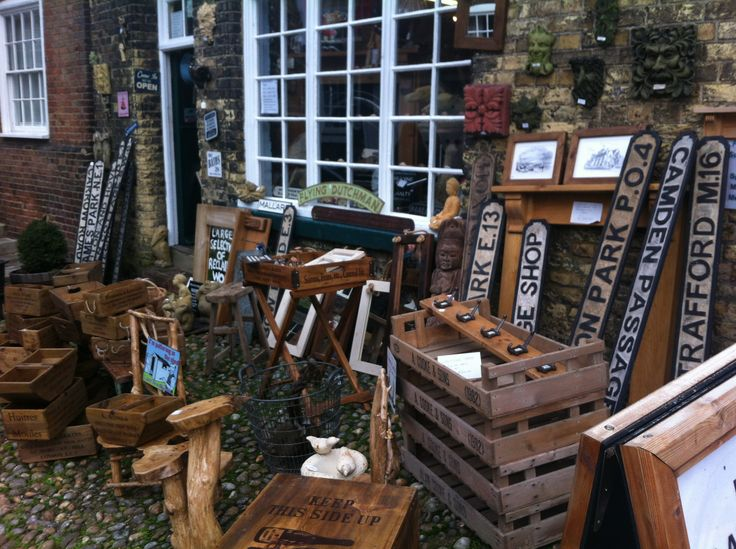 shopping in Rye, Sussex