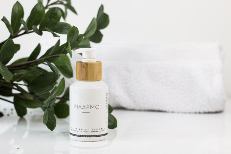 Minimalist skincare packaging
