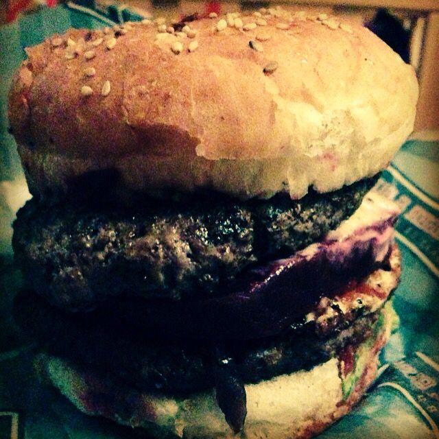 The Australian Burger from Burger & Bun, Copenhagen, Denmark