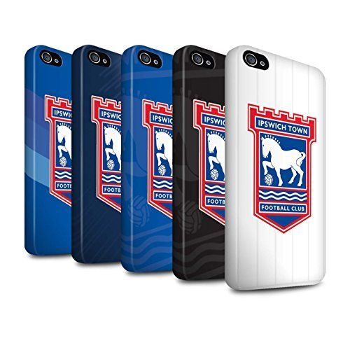 Official Ipswich Town FC Product * Compatible With: Apple iPhone 4/4S * Design: Pack 12pcs * Material: Toughened Polycarbonate Plastic * (Placed within the Amazon Associates program) * 04:49 Mar 5 2017