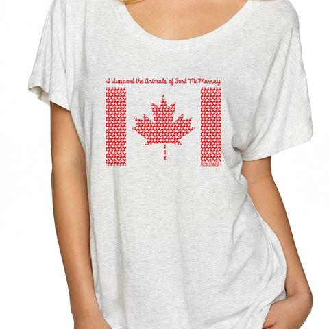 ResQwalk // ResQthreads — Fort McMurray T-shirt Fundraiser