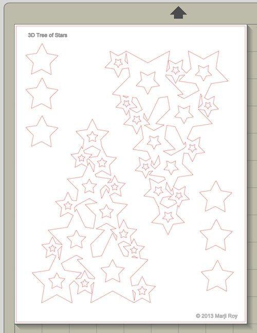 Xmas tree paper craft