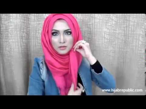 Hijab Tutorial 2013- 2014 (how to wear hijab jilbab for work and school) #