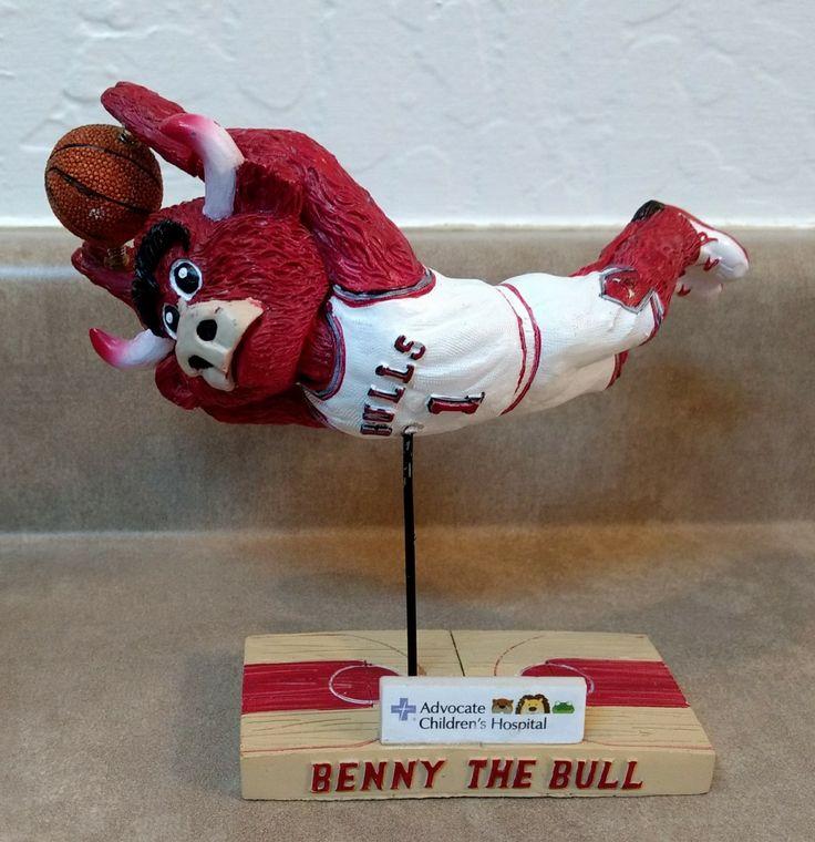 Chicago Bulls Mascot, Benny the Bull