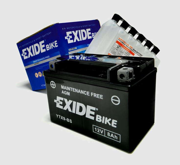 Most Current Concepts Exide Motorcycle Battery