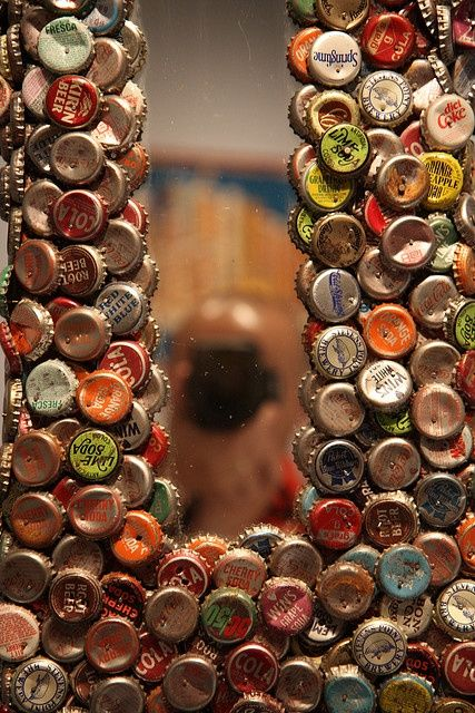 bottle cap letters- on my craft list #clever
