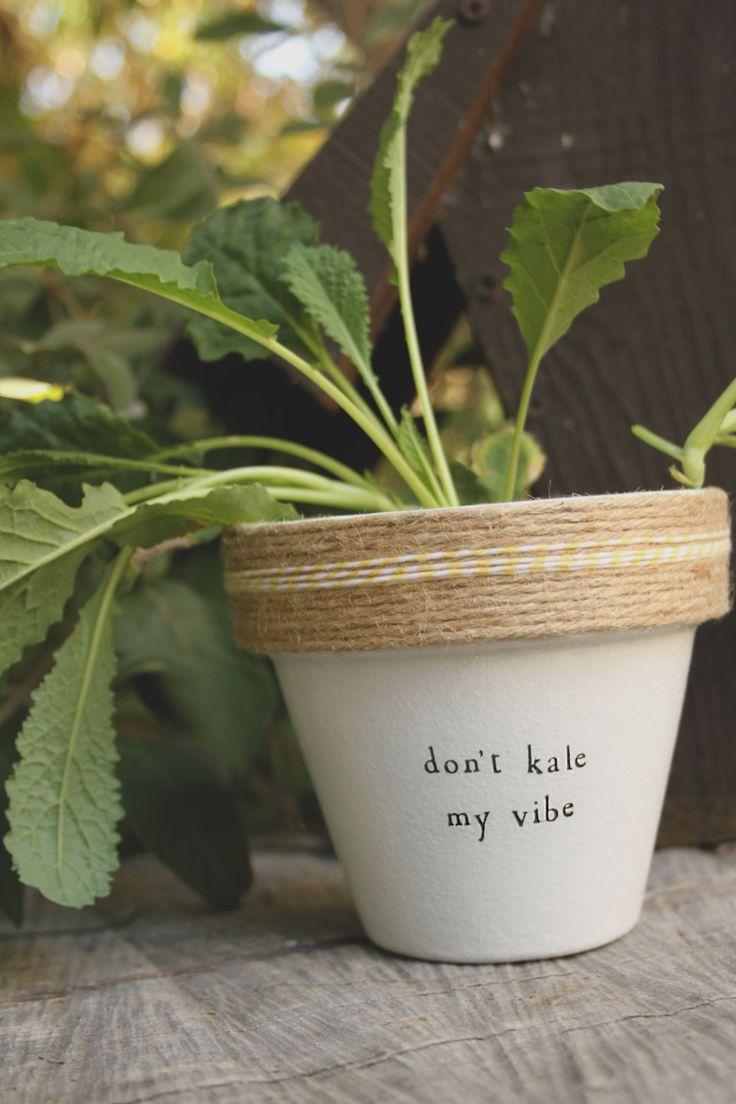 Don't Kale My Vibe by PlantPuns on Etsy
