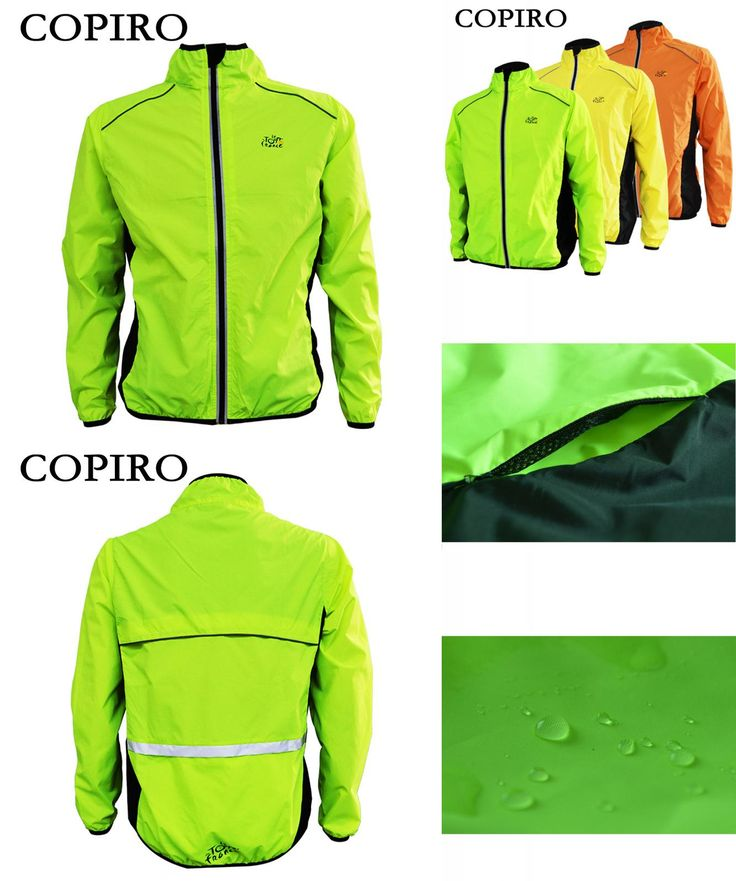 [Visit to Buy] Copiro Impermeable Chaqueta Ciclismo Invierno Hombre Cortavientos Abrigo Mtb Reflectante Ropa De Bicicleta Mountain Bike Jackets #Advertisement