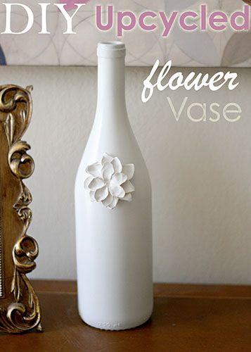 White Wine Vase