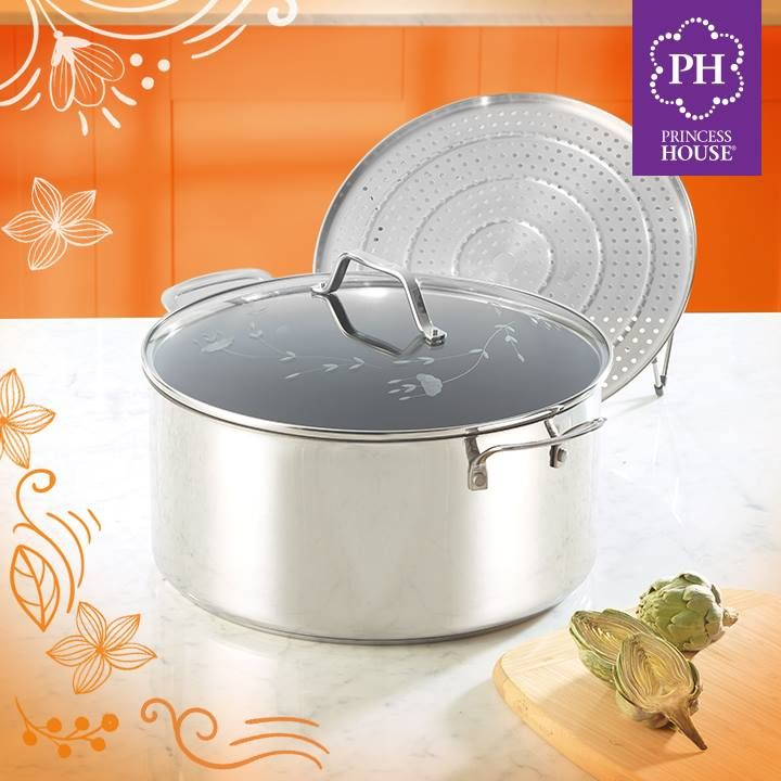 What's for dinner? You can steam artichokes in the 15 qt. Stockpot & Steaming Rack, while you make chicken breasts on the grill. Sounds delicious👅!