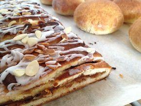 Trenza danesa receta tartas nórdicas tartas almendras canela glaseado rollos tartas de canela rollos canela nórdicos recetas postres y dulce...