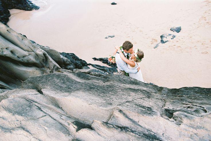 Living The Dream With A Hawaiian Beach Elopement