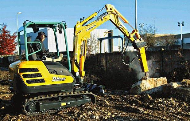 Heavy Machinery Online: Yanmar Excavator - SV26 http://construction-equipment-online.blogspot.com/2014/07/yanmar-excavator-sv26.html