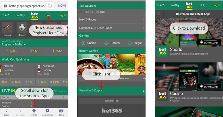 How To Download The Bet365 Android App Download Install Bet365 On Any Mobile Device App Android Download App
