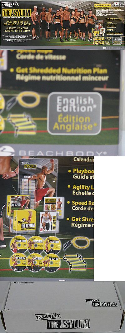 Other Fitness Running and Yoga 13362: Beachbody - Insanity : The Asylum Complete Kit Brand New: Ladder, Rope, 6 Dvds + -> BUY IT NOW ONLY: $93.99 on eBay!