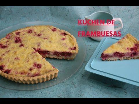 KUCHEN O TARTA  DE FRAMBUESA - YouTube