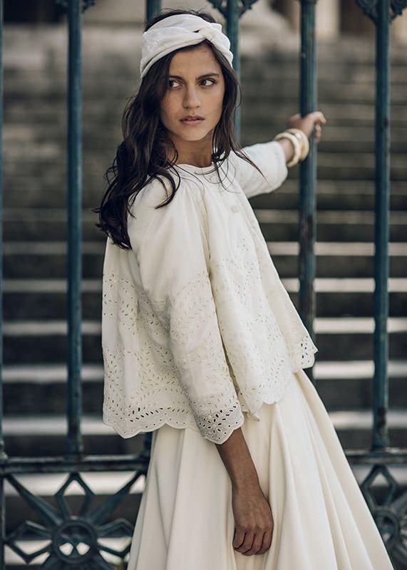 Collection Laure de Sagazan 2016- Veste Armeno portée sur la robe Proust & turban Rocha