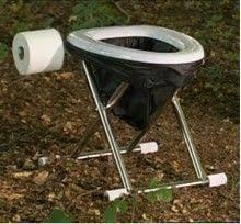 Billedresultat for diy mini camping toilet