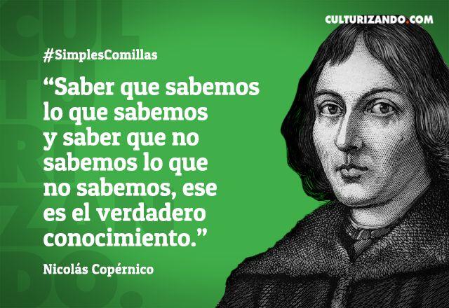 Grandes Científicos: Nicolás Copérnico (+Frases) - culturizando.com   Alimenta tu Mente