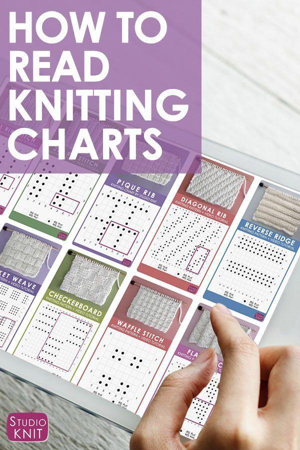 Finalmente tudo faz sentido agora! Aprenda a ler um gráfico de tricô para absoluto ...