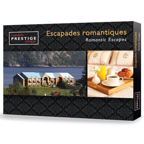 Coffrets Prestige : Escapades romantiques | Idée Cadeau Québec http://www.ideecadeauquebec.com/coffrets-prestige-escapades-romantiques-couple/