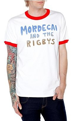 """Mordecai and the Rigbys"" t-shirt from Regular Show"