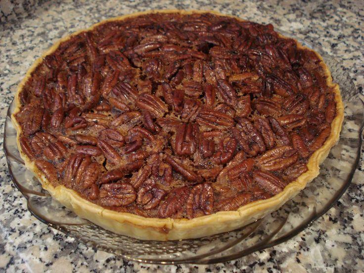 Tarte de Noz Pecan (Pecan Pie)