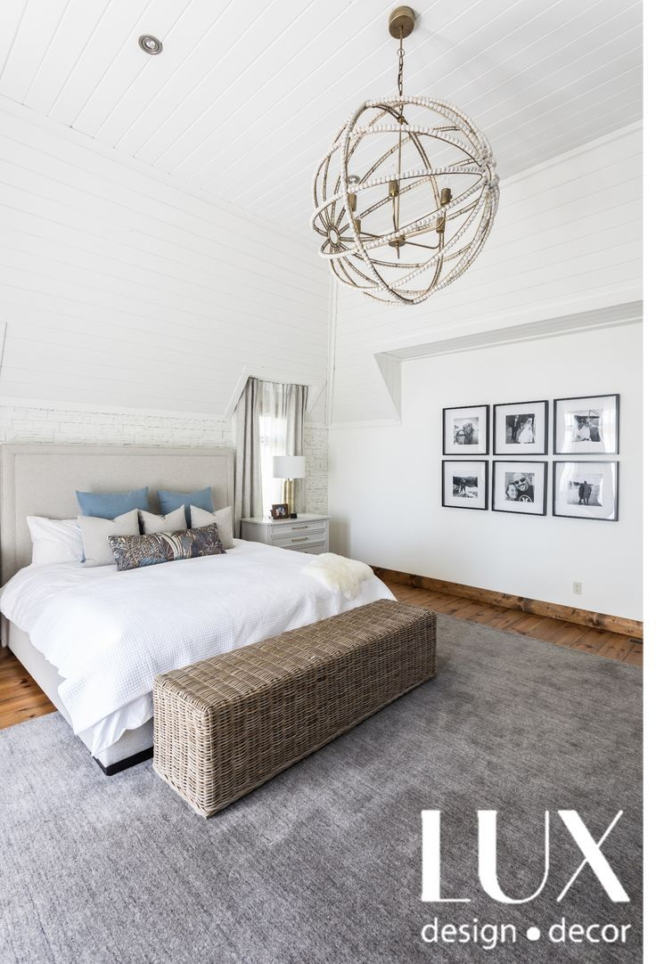 Decor In A Beautiful Transitional Lux Style Light Dark Contrast Pops Of Color Light And Airy Designed By Lux Decor Pho With Images Luxe Bedroom Decor Design Your Home