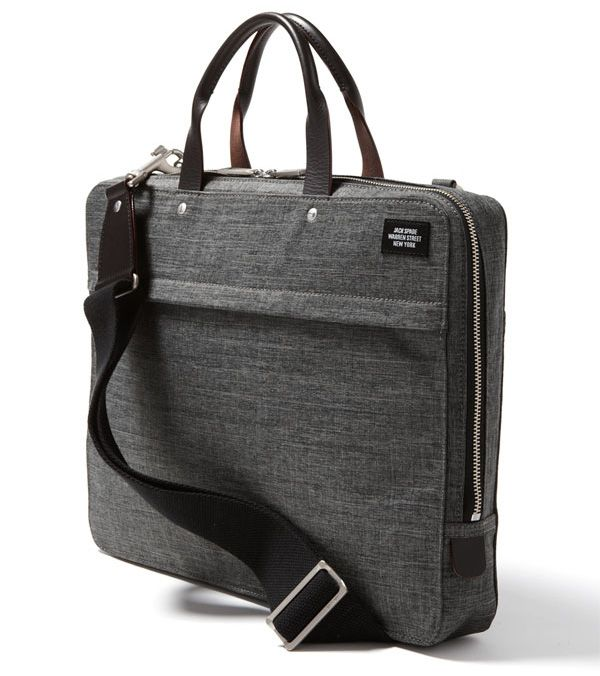 jack spade | jack spade tech oxford slim laptop briefcase everything is slimmed ...