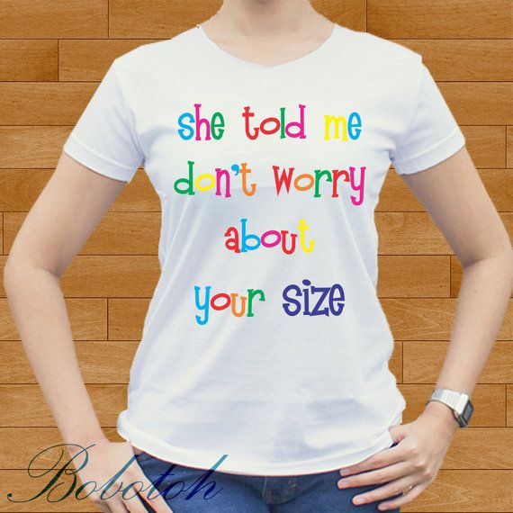 She Told design for men and women t-shirt by bobotooh on Etsy