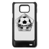 Hoesjes voor mobiele telefoons & tablets ~ Samsung Galaxy S2 case ~ voetbal vervang tekst e cover