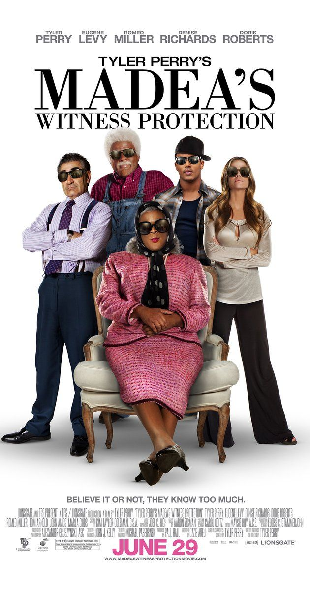 Directed by Tyler Perry.  With Tyler Perry, Eugene Levy, Denise Richards, Tom Arnold. A Wall Street investment banker who has been set up as the linchpin of his company's mob-backed Ponzi scheme is relocated with his family to Aunt Madea's southern home.