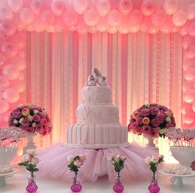 Resultado de imagem para decoração festa bailarina