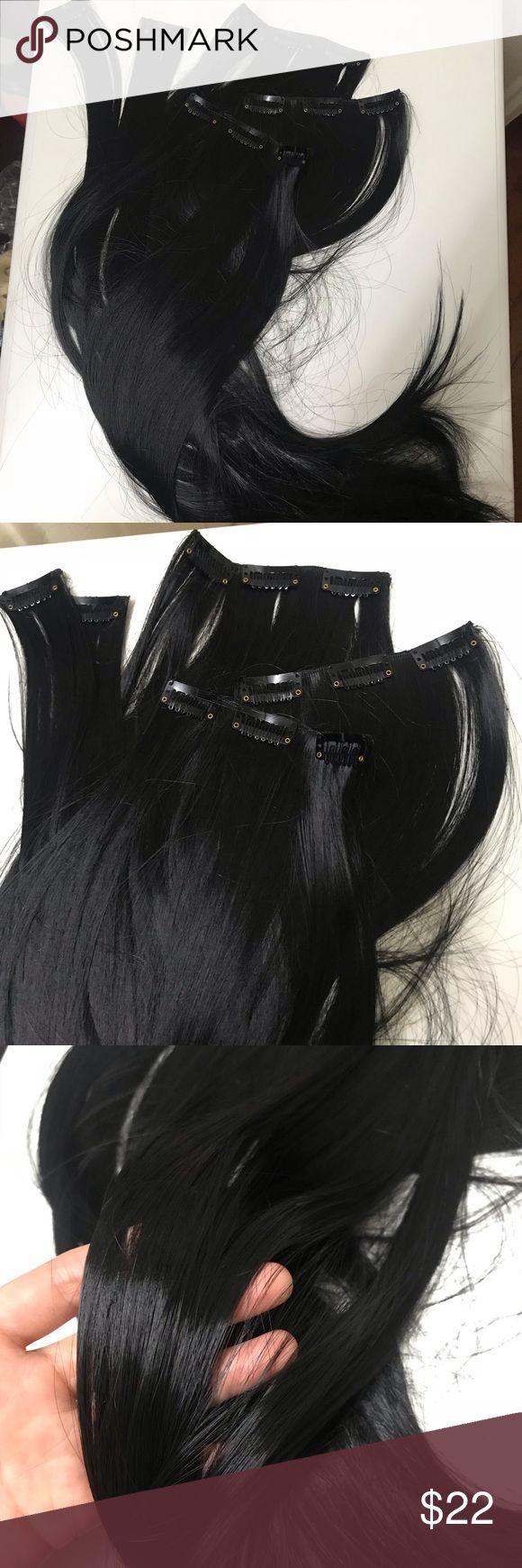 """26 """"11 Clips Haarverlängerungsclip in Der Preis ist fest. Es ist in Japan hergestellt, n ..."""