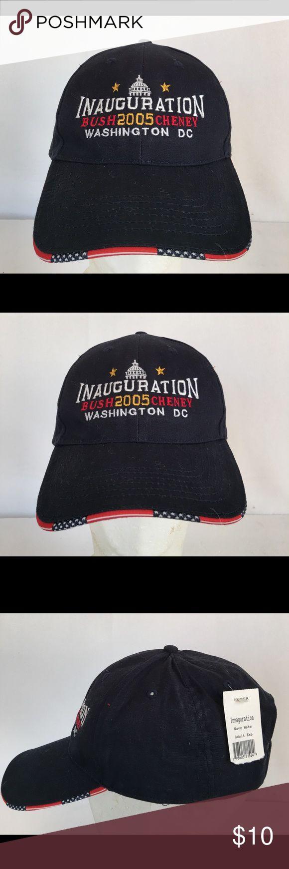 Bush/Cheney 2005 Inauguration Washington, DC Cap NWT, Bush/Cheney 2005 Inauguration Washington, DC, Adult Size Cap/Hat Accessories Hats