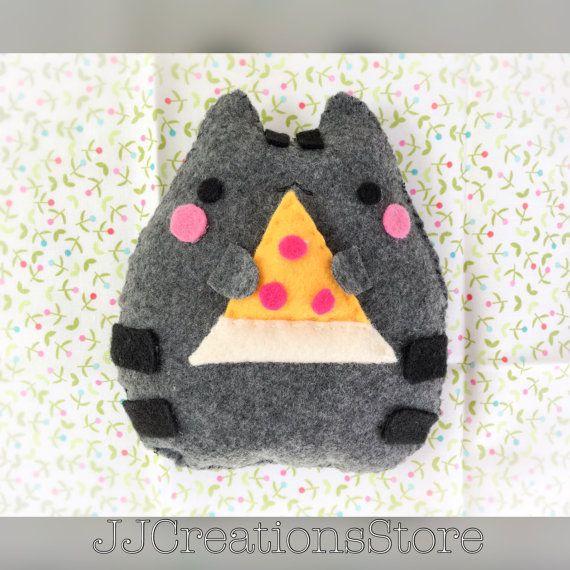 Pusheen plush pusheen pusheen plushie toy cat by JJcreationsStore